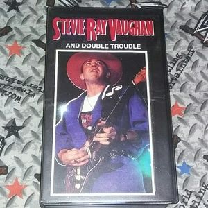 1985 Stevie Ray Vaughan Live Japan Concert VHS 80s